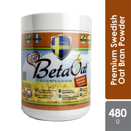 Beta Oat Plus 480g | With Beta-Glucan for Cholesterol
