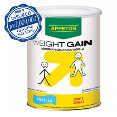 Appeton Weight Gain Adult Vanilla (900g) [twin Pack]