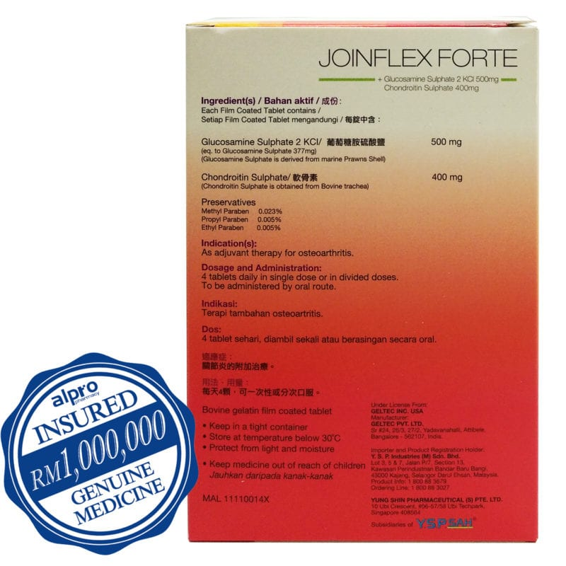 Shine Jointflex Forte 60s