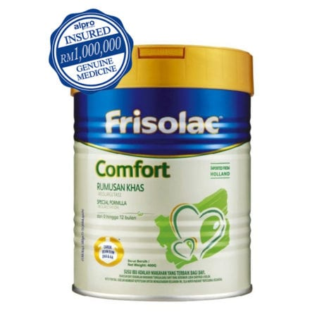 Frisolac Comfort 400g Special Formula (rumusan Khas) 0-12 Months
