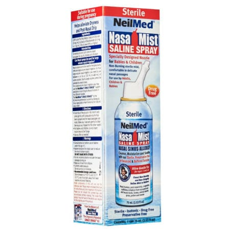 Neilmed Nasa Mist Isotonic Saline Spray (75ml)