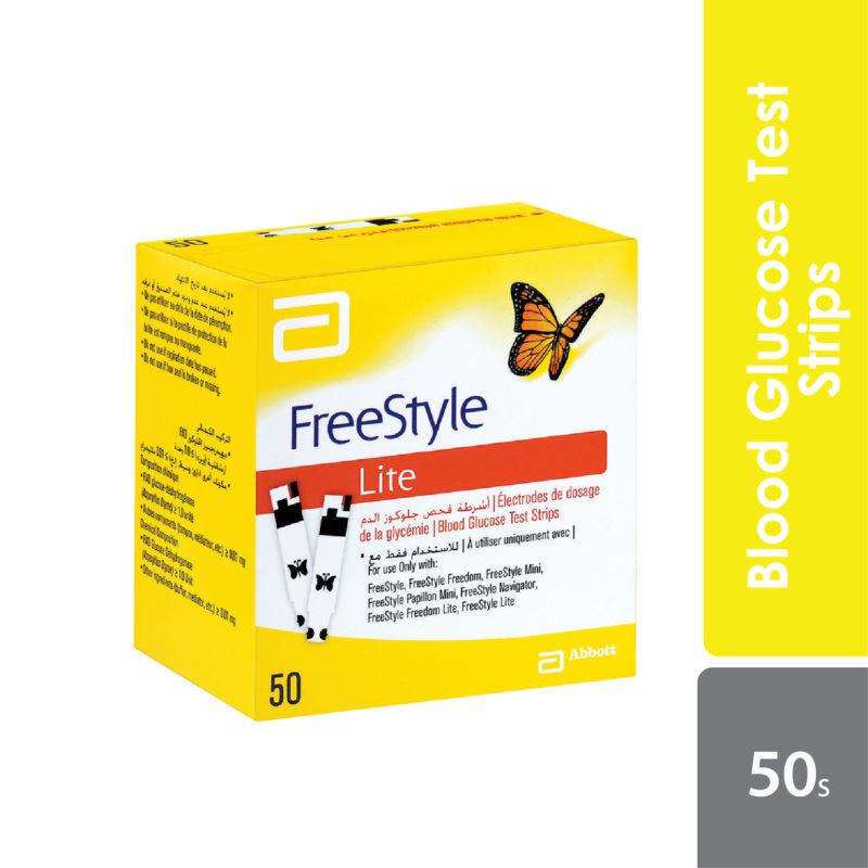 Abbott Freestyle Freedom Lite Test Strips 50s