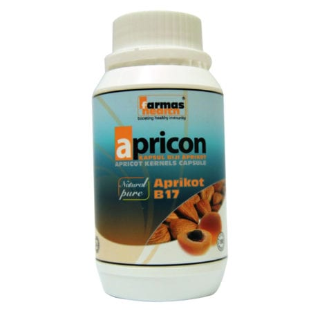 Farmas Health Apricon - Apricot Vitamin B17 (150's)