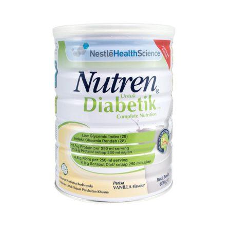 Nestle Nutren Diabetik Complete Nutrition Vanilla (800g)