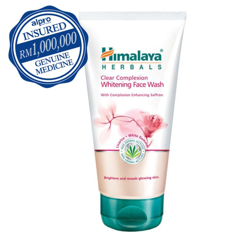 Himalaya Clear Complexion Whitening Face Wash (150ml)