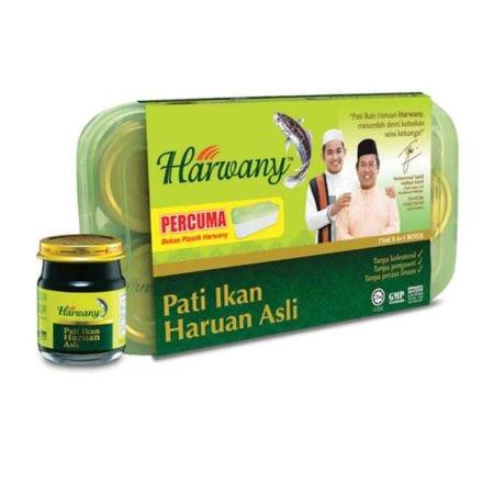 Harwany Pati Ikan Haruan Asli (75ml X 6's) [free 1's]