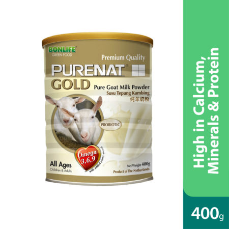 Purenat Gold Goat Milk Powder 400g