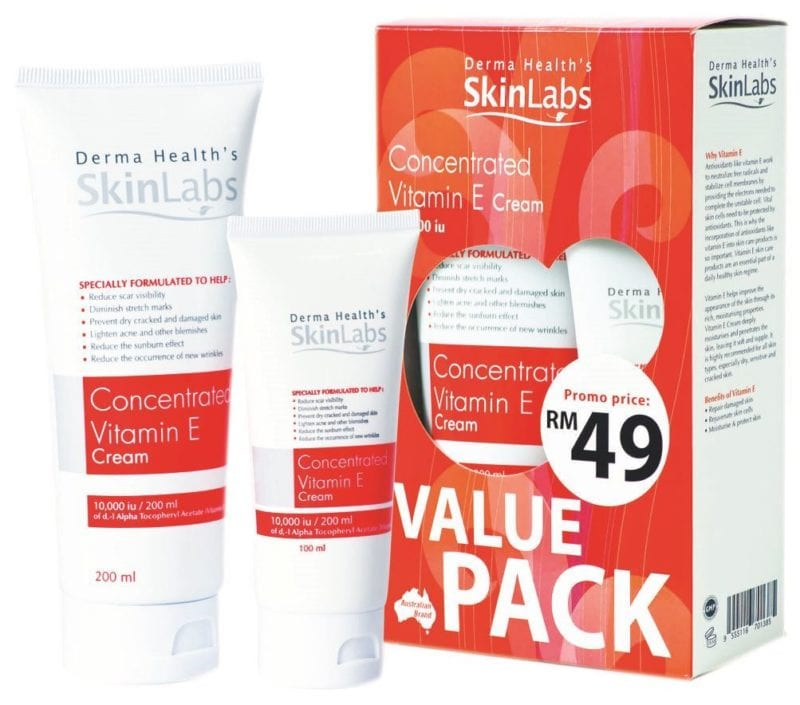 Skinlabs Concentrated Vitamin E Value Pack