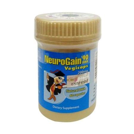 Neurogain 90 Dha Vegicaps (60s)