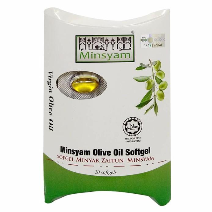 Minsyam Syam Olive Oil Capsule (20's)
