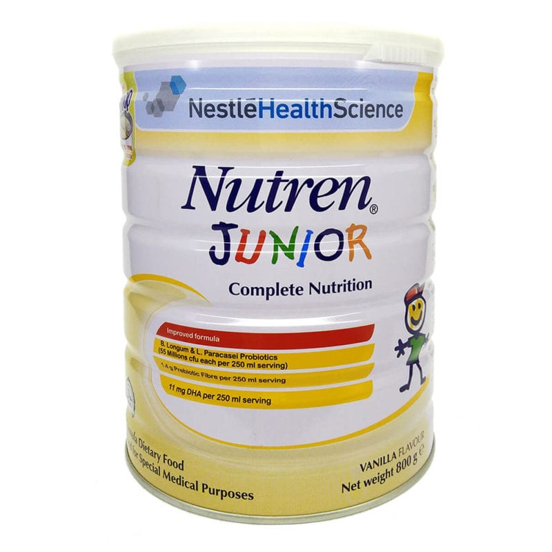 Nestle Nutren Junior Complete Nutrition (800g) (exp Date: 10/2021)