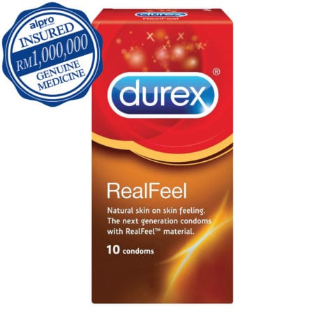 Durex Real Feel (56mm) 10s