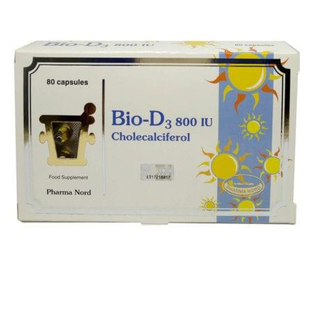 Pharma Nord Bio-d3 800iu - Cholecalciferol (80s)