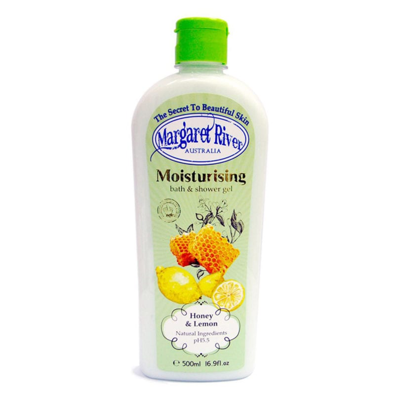 Margaret River Moisturizing Honey & Lemon 500ml