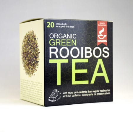Organic Green Rooibos Tea 2.5g 20s