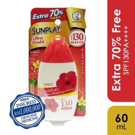 Sunplay Ultra Shield Spf130 35g Free Extra 25g