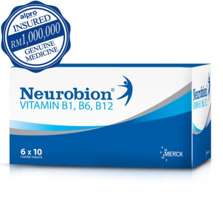 Neurobion Nerve Pain Relief (60s) Exp Date 01/2021