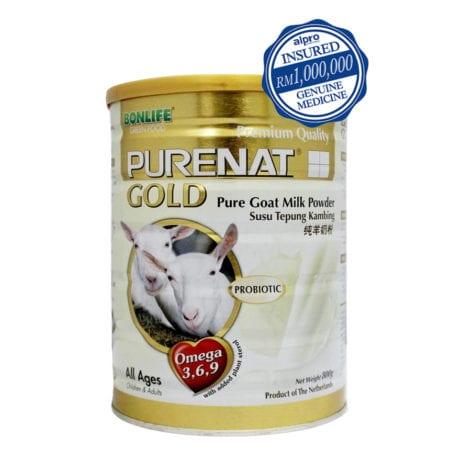 Bonlife Purenat Gold Pure Goat Milk Powder (800g)