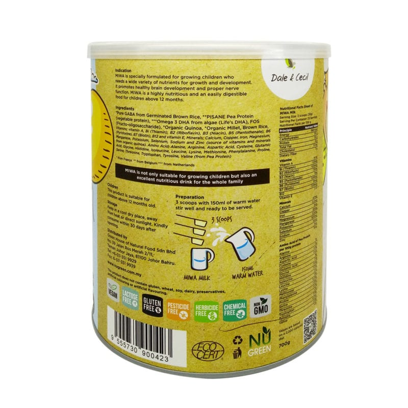 Miwako Grain Milk Powder 700g