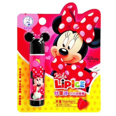 Mentholatum Kids' Lipcare Disney Lipice - Strawberry (3.5g)