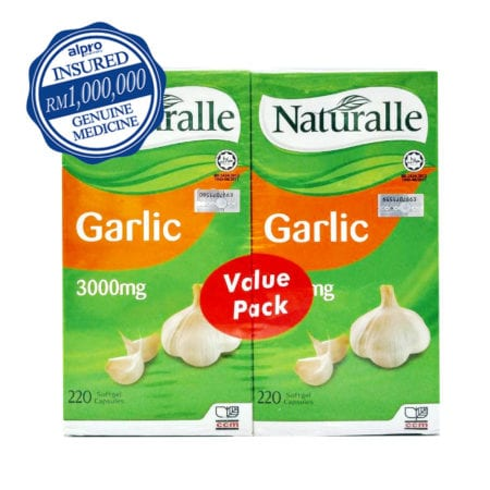 Naturalle Garlic 3000mg (220s X 2) Exp. Date: 01/2023