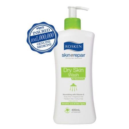 Rosken Dry Skin Wash 400ml