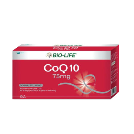 Bio-life Coq10 75mg 4x30s