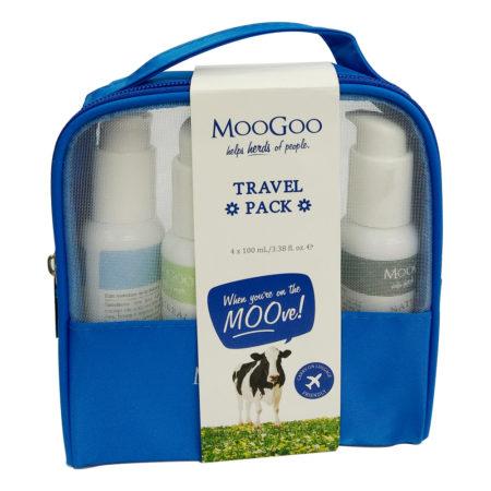 Moogoo Travel Pack 4 In 1 Value Pack