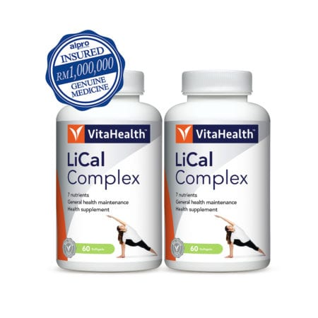 Vitahealth Lical Complex 2x60s
