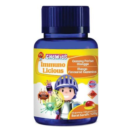 Chewies Kids Immuno Licious Multivitamin Mango 60s