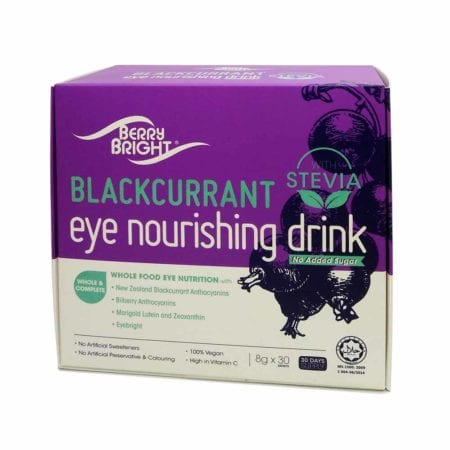 Berry Bright Blackcurrant Eye Nourishing Drink With Stevia (8g X 30's)