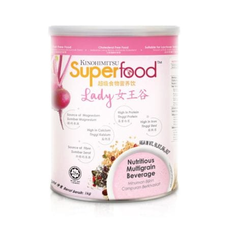 Kinohimitsu Superfood Lady Nutritional Drink 1kg (exp Date: 02/2021)