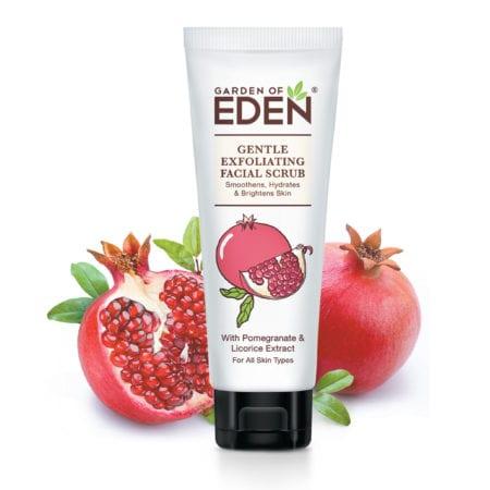 Garden Of Eden Gentle Exfoliating Facial Scrub (75g)