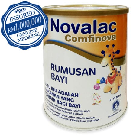 Novalac Comfinova Infant Formula 800g