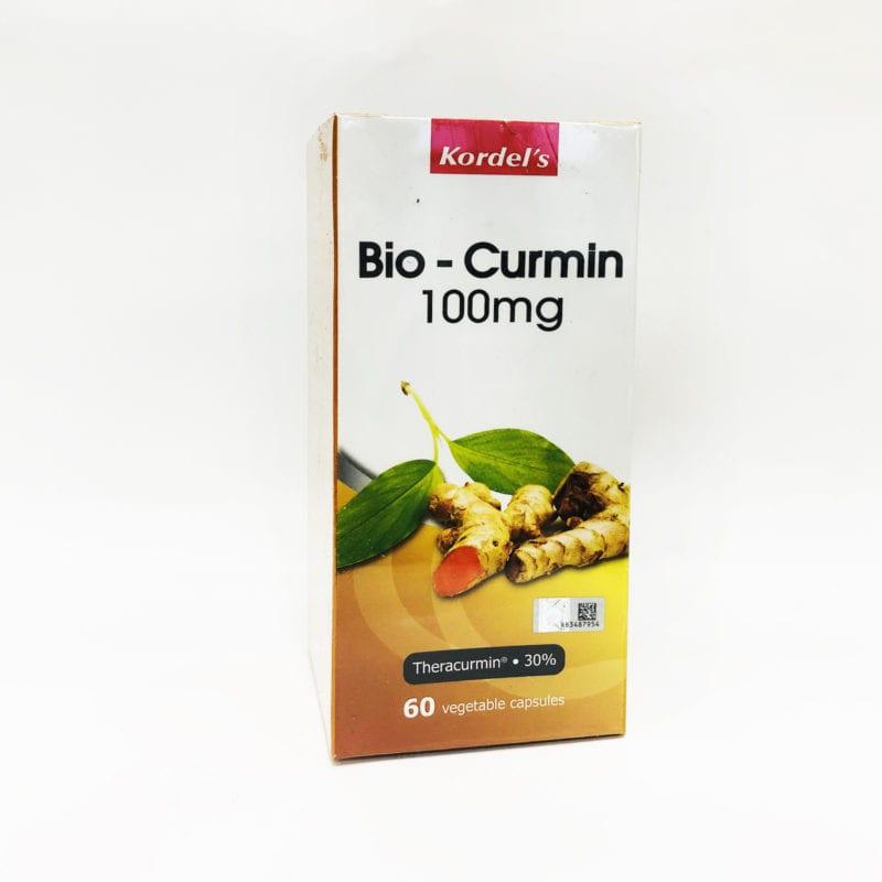 Kordels Bio-curmin 100mg 60s