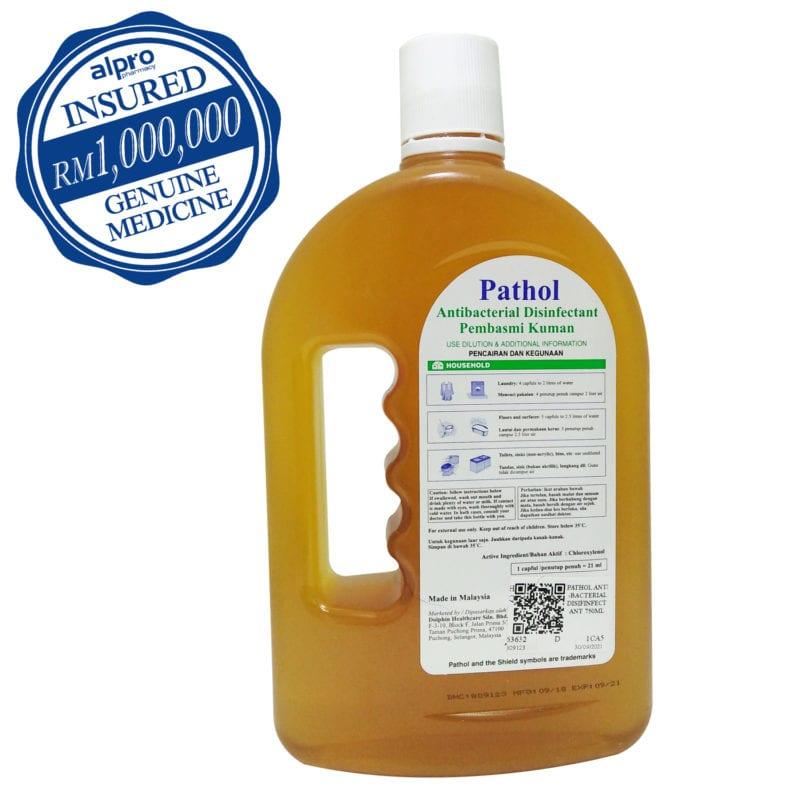 Pathol Antiseptic Germicid (disinfectant Liquid) (750ml)