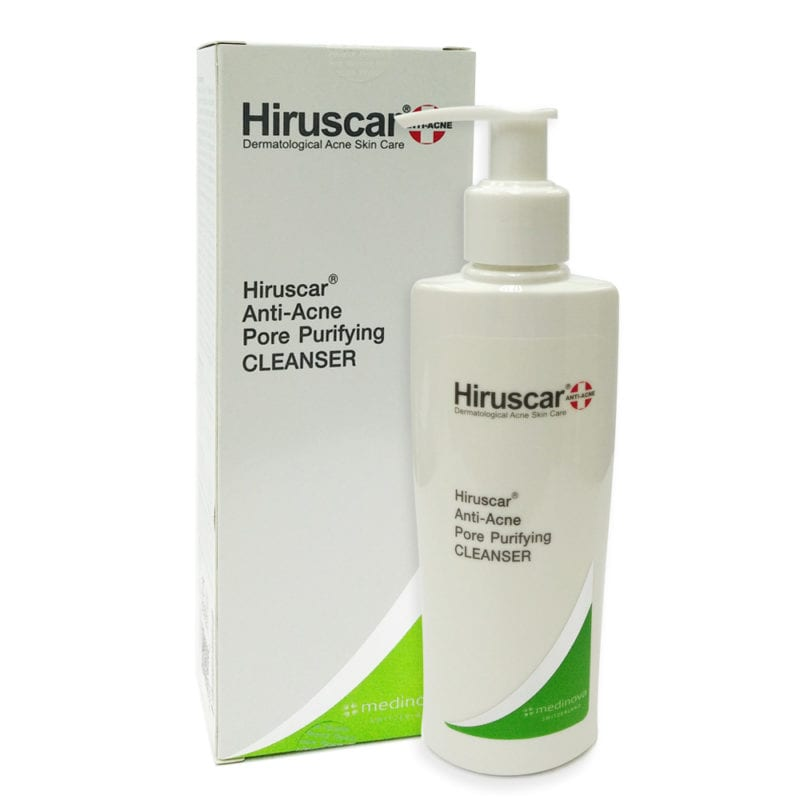 Hiruscar Anti-acne Pore Purifying Cleanser (100ml) Exp. Date: 12/2021