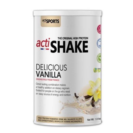 Actishake Delicious Vanilla 450g