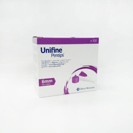 Unifine Pentips 6mmx31g 100s