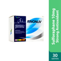 Rinonliv contains sulforaphane 10mg, good for liver and kidney detox.