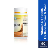 Powerlife Vitamin D3 is good for bone, immune system and regulate mood.