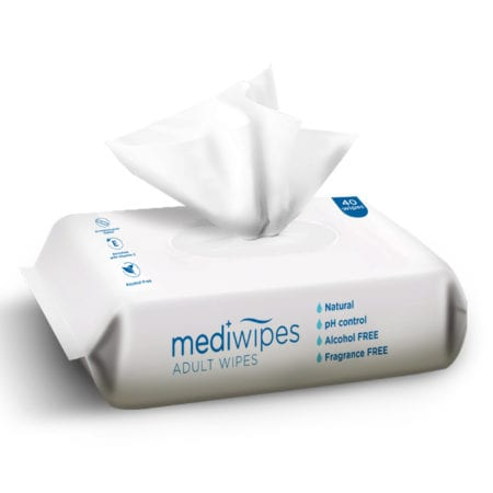 Mediwipes Adult Wipes 40s