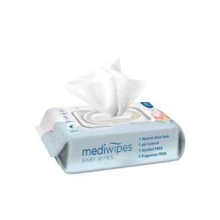Mediwipes Baby Wipes 80s