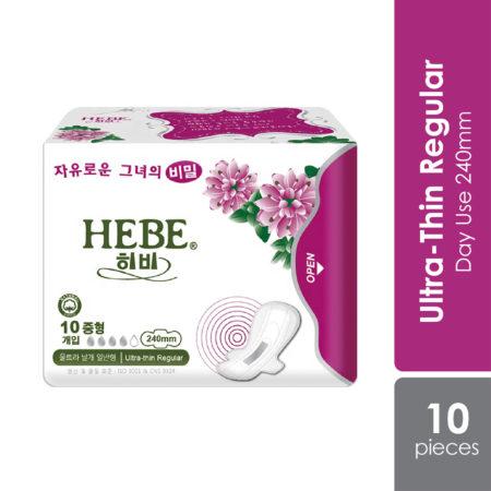 Hebe Anion Herbal Sanitary Pad.