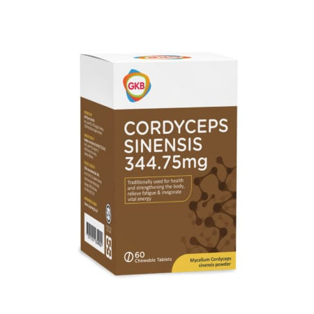 Gkb Cordycep Sinensis 350mg 60s