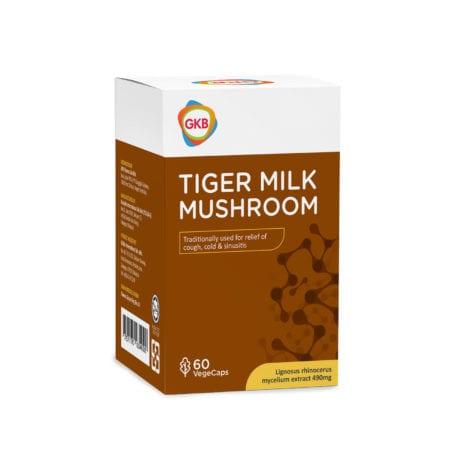 GKB Tiger Milk Mushroom 490mg 60s