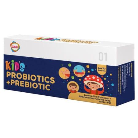 Gkb Kids Probiotic+prebiotic 30s