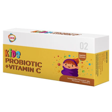 GKB Kids Probiotic+Vitamin C 30s