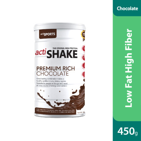 Actishake Premium Rich Chocolate 450g
