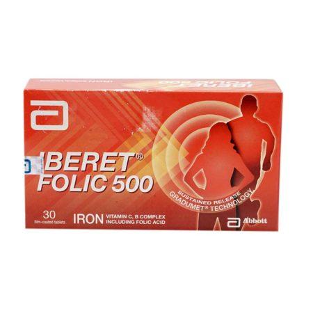 Abbott Iberet Folic-500 5x6s
